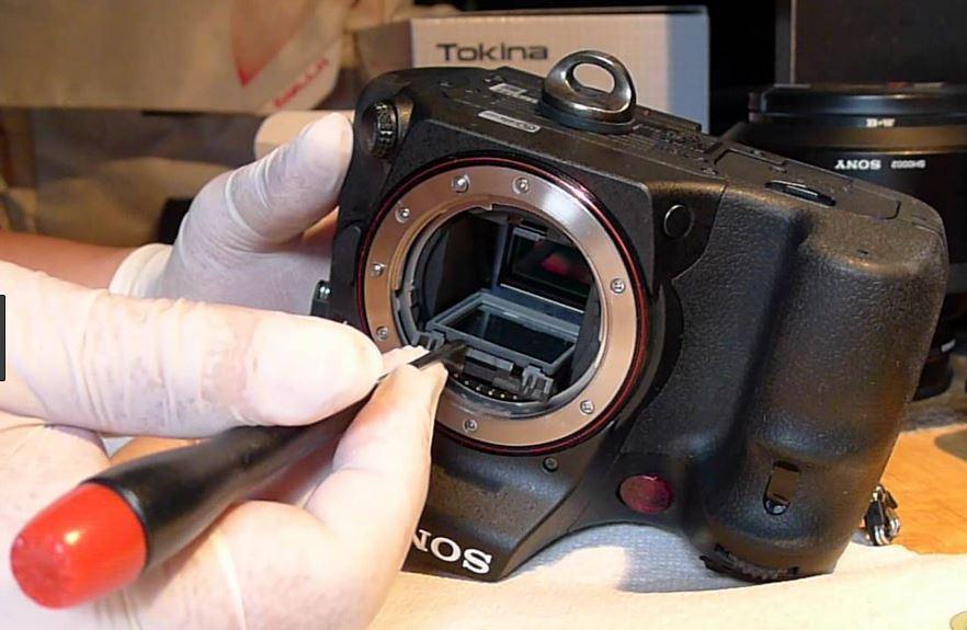куда можно отдать в ремонт фотоаппарат элементы металлом